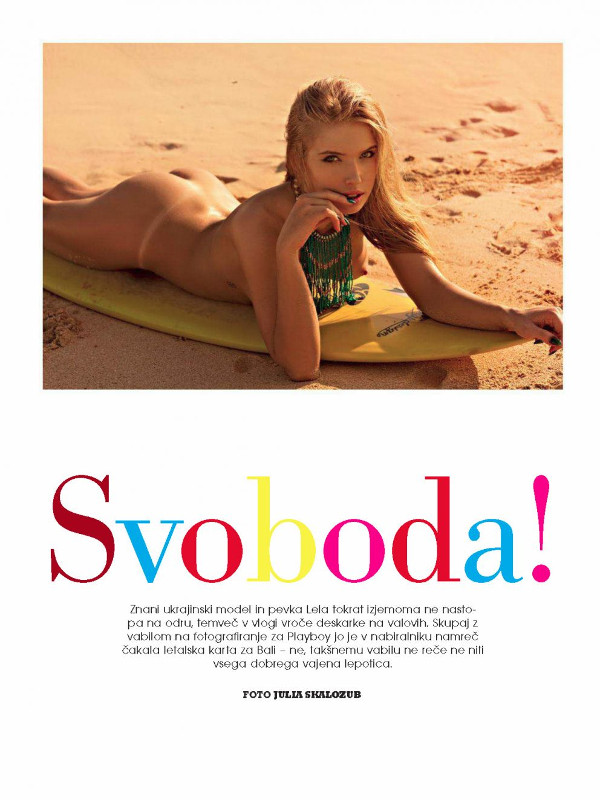 Olga Tretjacenko naked photos - Playboy Slovenia