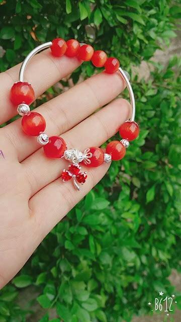 Ý nghĩa vòng tay phong thủy mã não đỏ