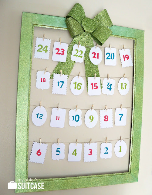 Super cute Countdown Calendar Tutorial!