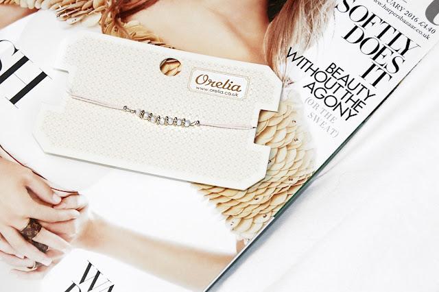 Katherine Penney Chic Blogger Jewellery Orelia Bracelet Pretty Gold