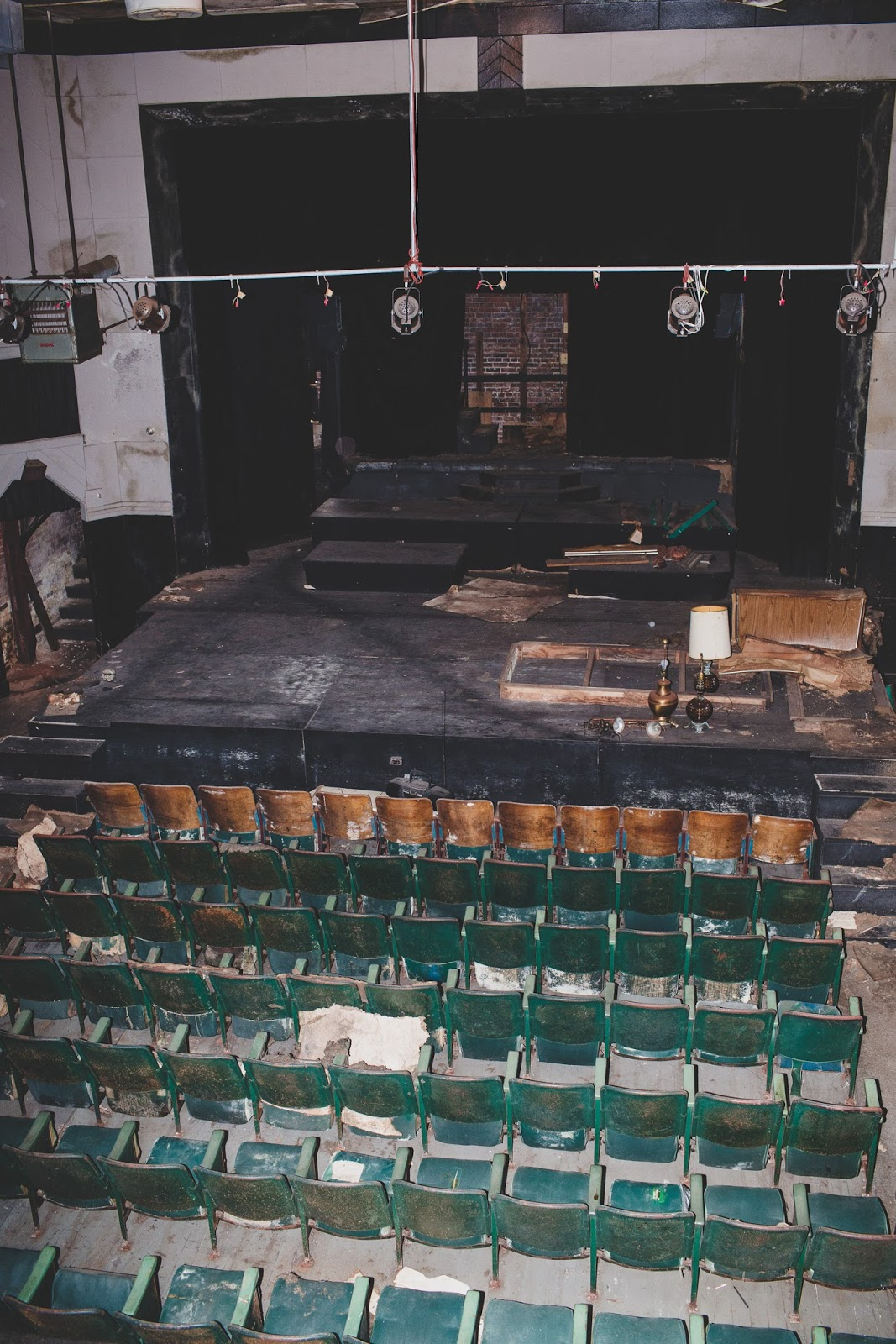 The Bells Theatre in need of repair - Help revive this historic cinema! - bit.ly/bellstheatre