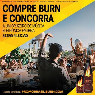 Promoção Burn Cruise