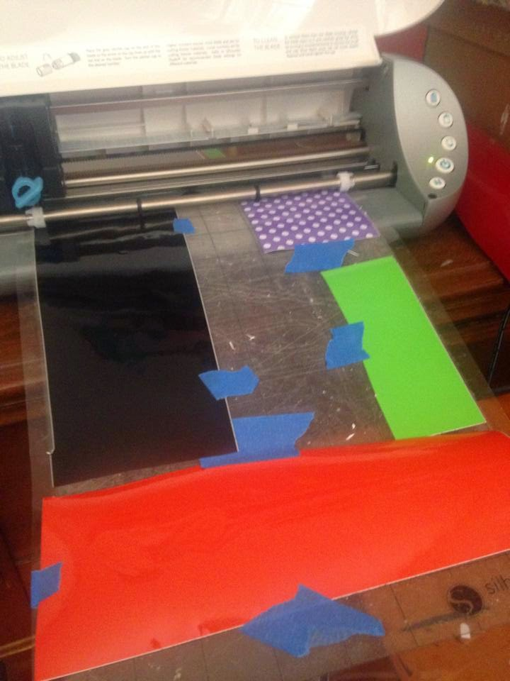 Painters tape, Painter's tape, Silhouette, crafting, cutting mat