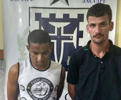 Dois homens são presos por roubo em flagrante em Capela do Alto Alegre