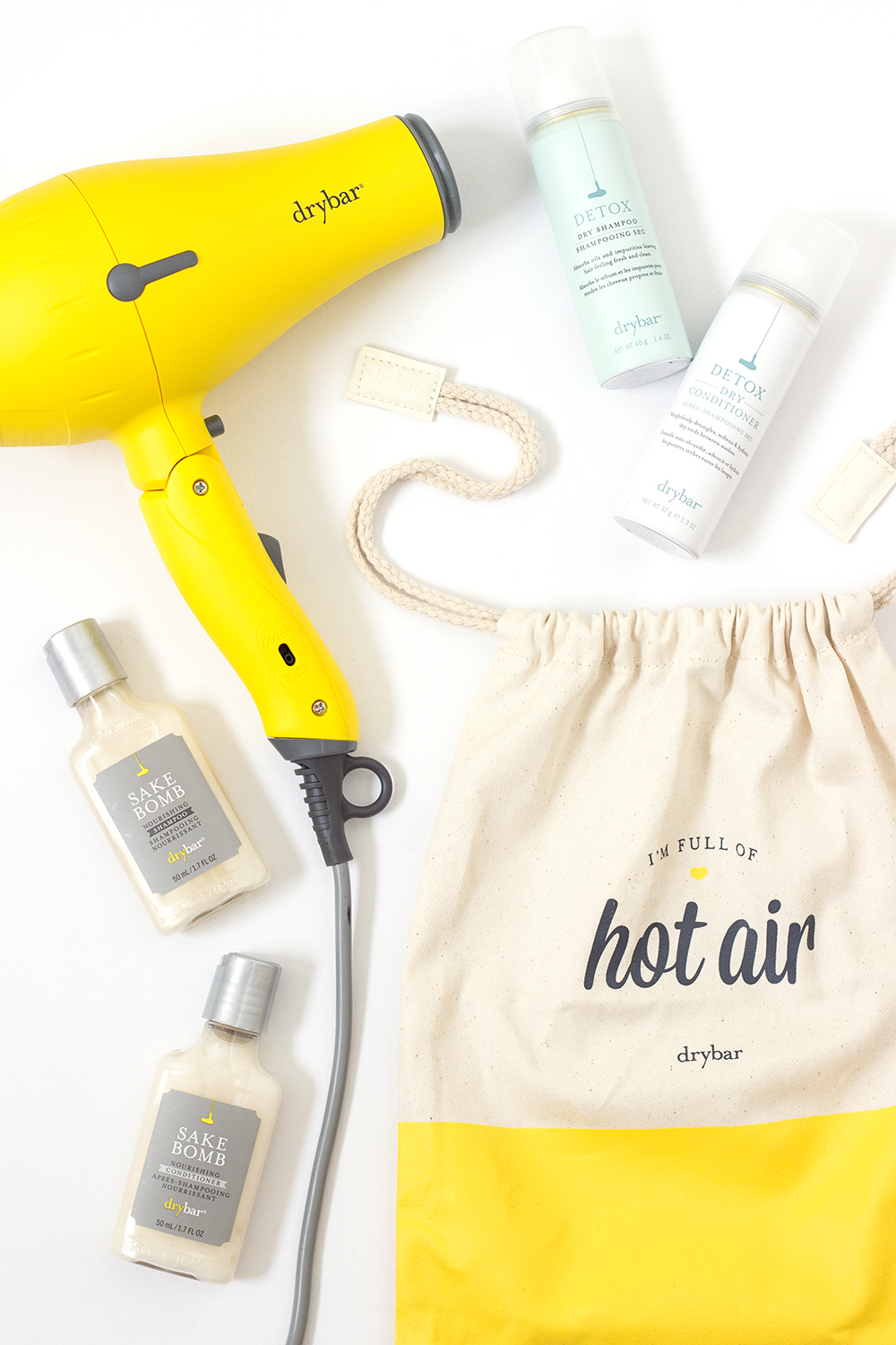 Drybar Hair We Go Travel Blowout Set