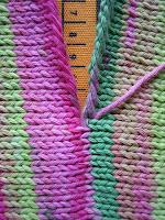 ニットの縫い合わせ方