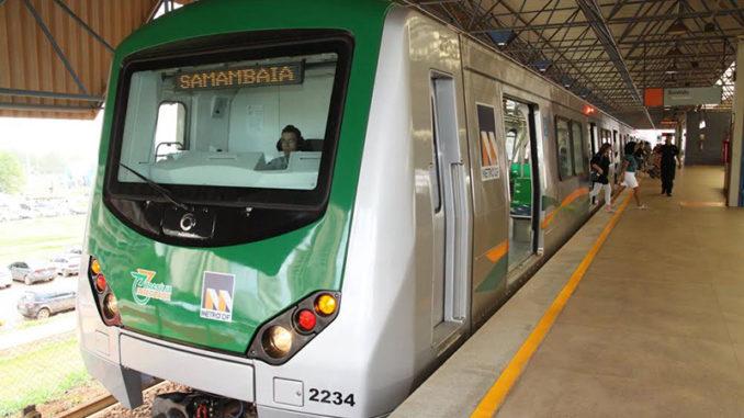 Resultado de imagem para metro samambaia