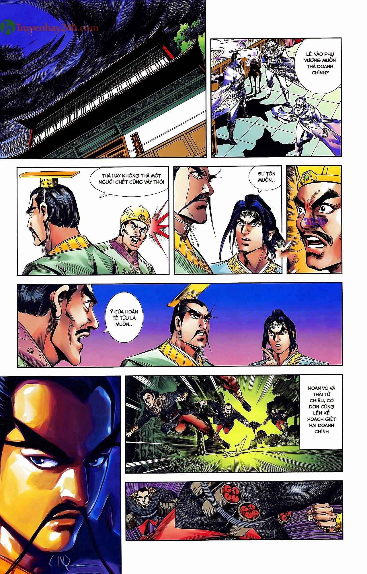 Tần Vương Doanh Chính chapter 31 trang 23