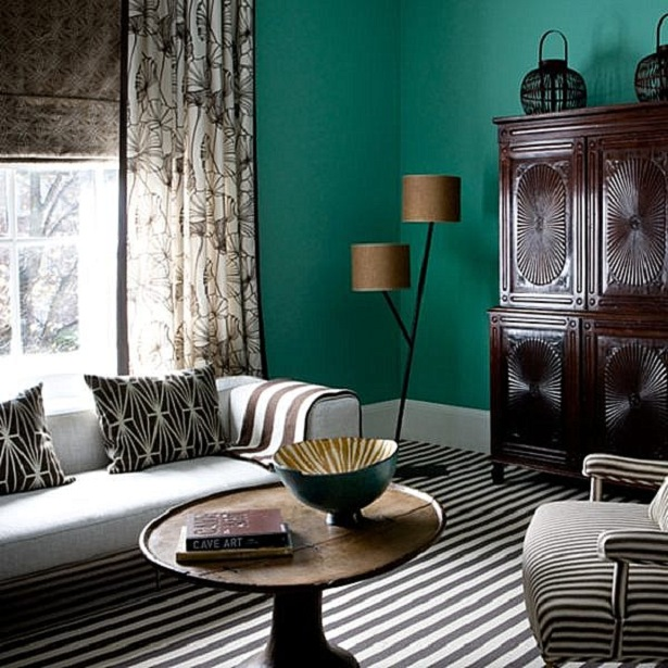 Teal Living Room: Home Art Designs: Inspiring Teal Living Room Ideal Home