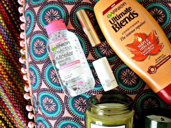 MONTHLY BEAUTY + LIFESTYLE FAVOURITES: OCTOBER 2017