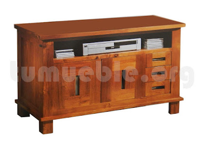 mueble tv teca 4036