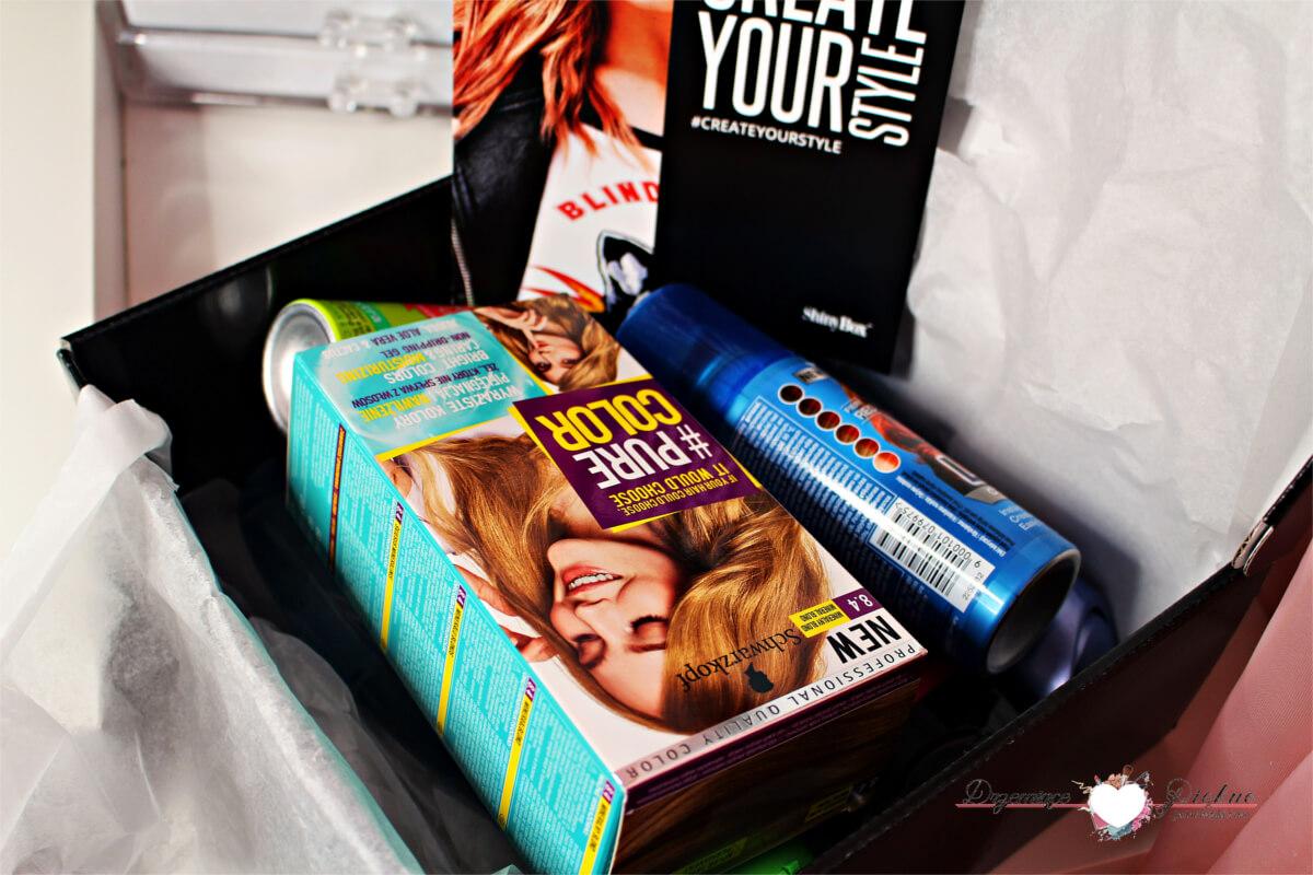 Extrabox kosmetyczny Create Your Style - Shinybox oraz Schwarzkopf