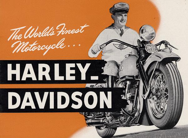 Vintage Harley Ads 55