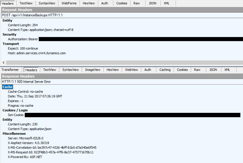 CRM Viking: Dynamics 365 Admin API quirks