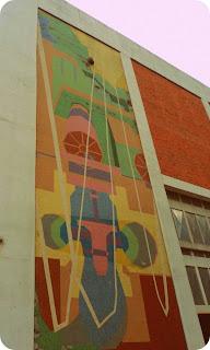 Mosaico de Gastão Tesche na Manutenção da Usina Hidrelétrica do Passo Real