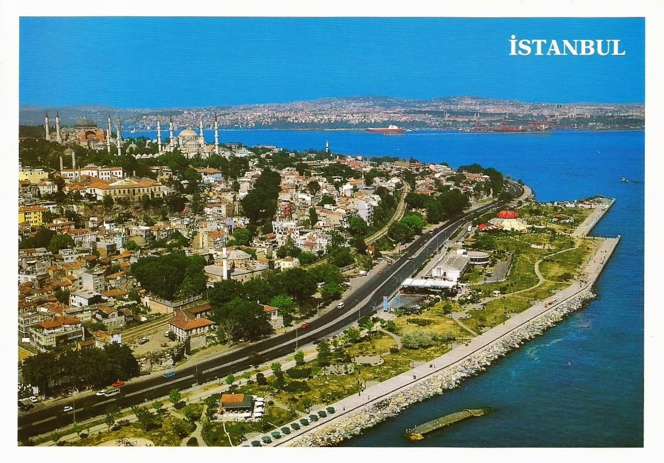Postcards on My Wall: Historic Areas of Istanbul, Turkey ...