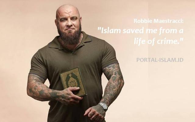 Robbie Maestracci: Islam menyelamatkan saya dari kehidupan kriminal