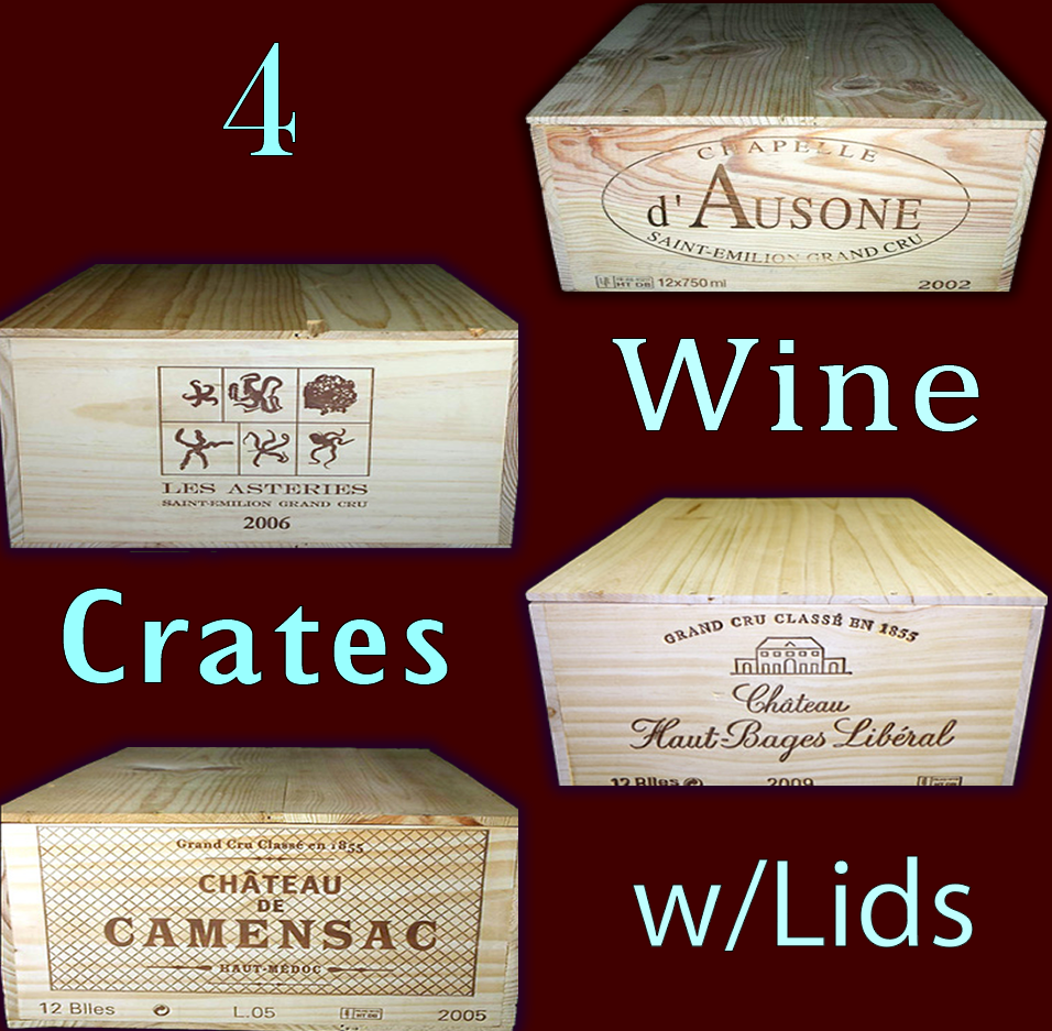 Wine crates and boxes october 2016 for Where to buy used wine crates