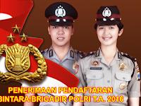 Penerimaan Bintara/Brigadir Polri 2016