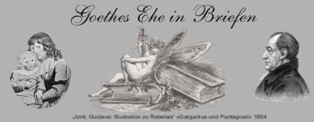 Gedichte Und Zitate Fur Alle Briefwechsel Goethe Mit Seiner Frau