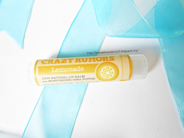 CRAZY RUMORS LEMONADE