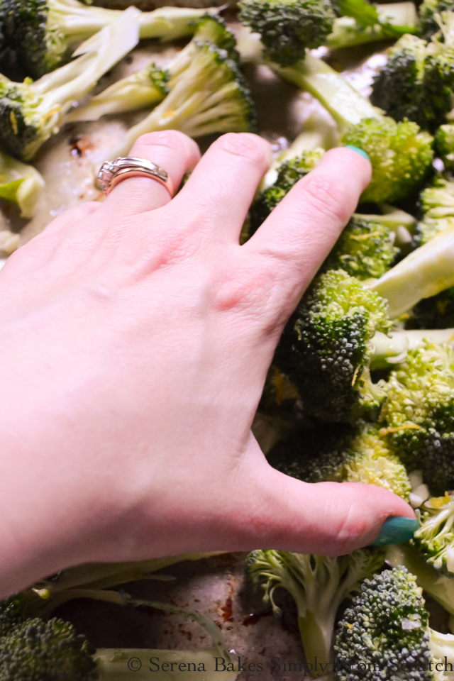 Easy Oven Roasted Broccoli Recipe