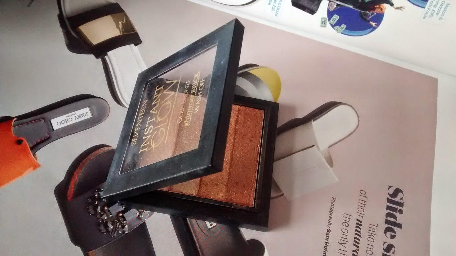 SEVENTEEN Shimmer Brick Compact