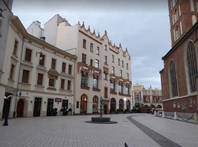 Plac Mariacki a Cracovia