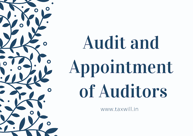 Appointment of Auditor Form ADT-1