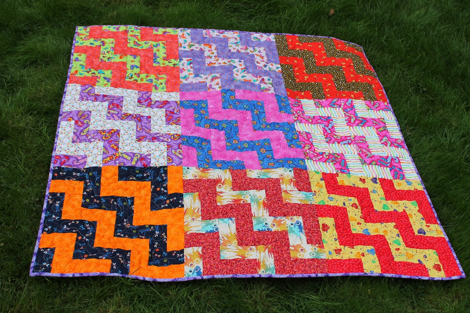 A big thanks to some friends who helped piece some of these blocks because of them i was able to put together and quilt up two more quilts for the cause