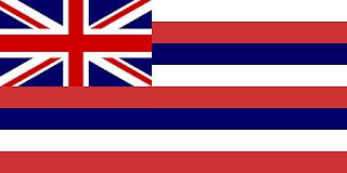 Le Chameau Bleu - Drapeau Hawaii