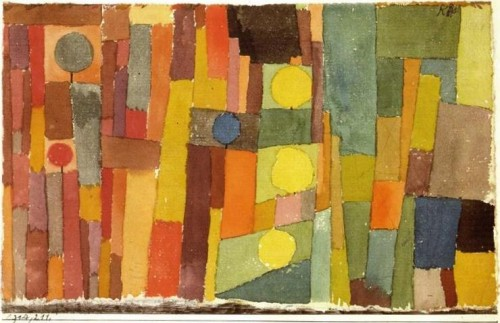 Pintura: In the Style of Kairouan - Paul Klee