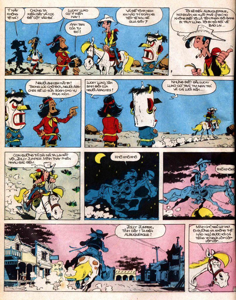 Lucky Luke tap 12 - khe vuc apache trang 28