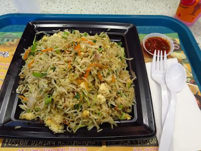 Komala's Fusion Restaurant, paneer fried rice