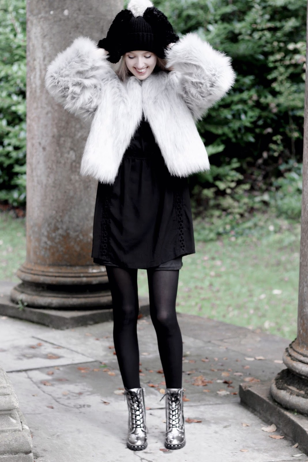 Textures Trend Styling Faux Fur Fashion Blog