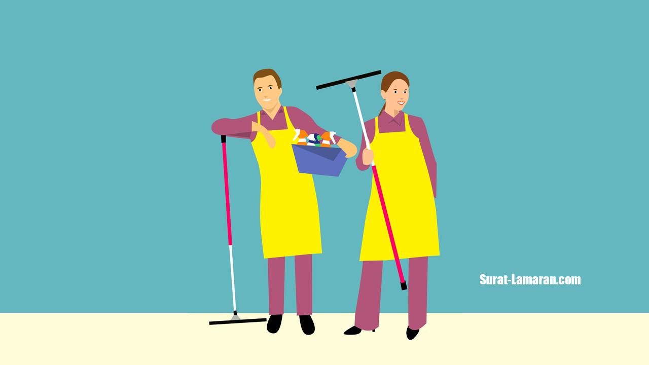 Contoh Surat Lamaran Kerja dan CV Cleaning Service