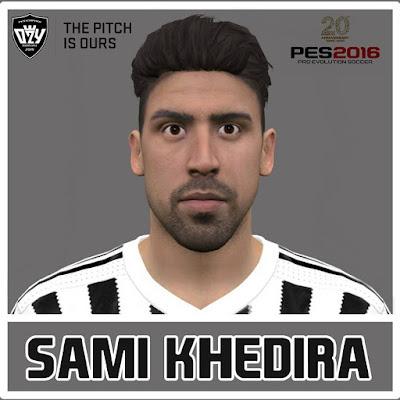 PES 2016 Sami Khedira Face by Ozy_96 PES MOD