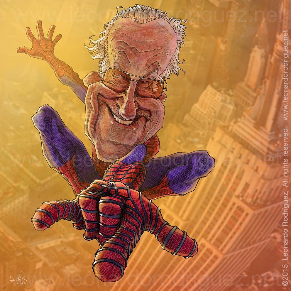 """""""Stan Lee"""" por Leonardo Rodriguez"""