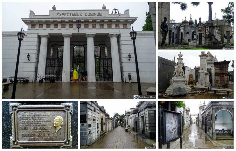 O que fazer em Buenos Aires - Cemitério da Recoleta - Mausoléu da família de Evita Perón
