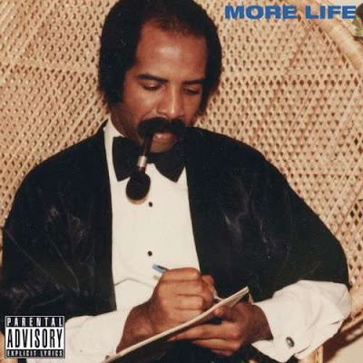 The cover of Drake's latest Playlist, showing Drake's Dad