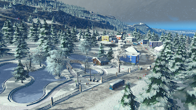 Cities Skylines Snowfall Free Download For PC