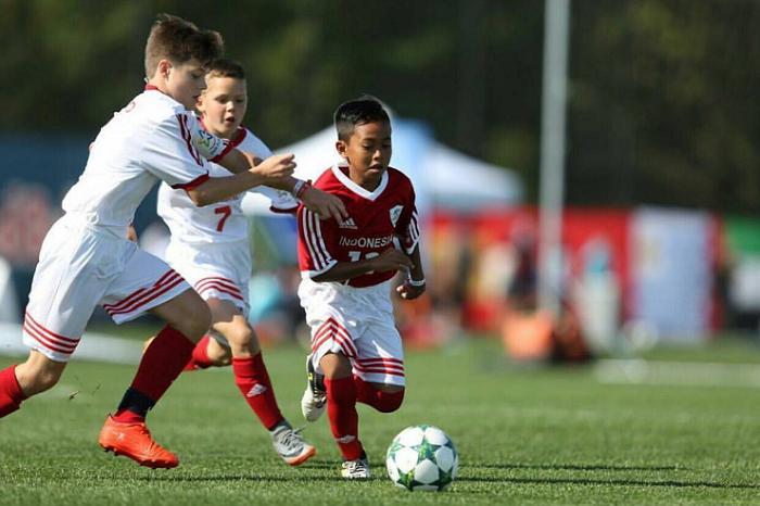Menang Terus! Timnas Indonesia Kuasai Grup D Piala Dunia U-12
