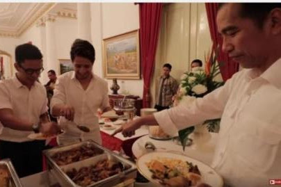 Youtubers Pertama yang berkolaborasi dengan Presiden Jokowi