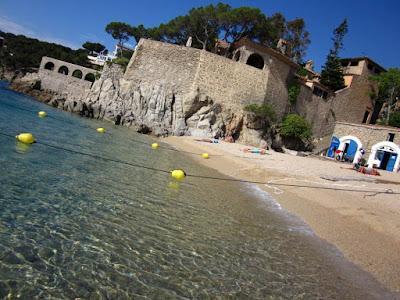 Playa El Port Pelegri en Calella de Palafrugell