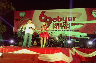 Artis Penyanyi Dangdut KDI Acara Hut RI