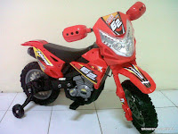 Motor Mainan Aki DoesToys DT413 Hero Force 62 Motocross