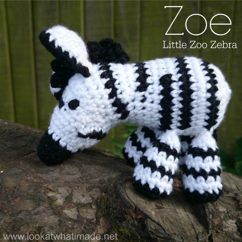 Zebra Crochet Afghan Pattern Free : Amys Crochet Creative Creations: Crochet Zoe the Crochet ...