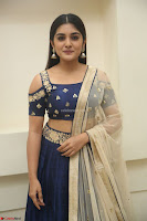 Niveda Thomas in Lovely Blue Cold Shoulder Ghagra Choli Transparent Chunni ~  Exclusive Celebrities Galleries 080.JPG