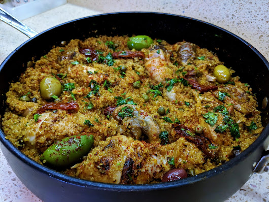 One Pot Chicken Wonder with Sun-dried Tomatoes and Quinoa l Cooking