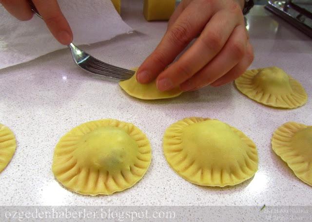 peynirli ravioli